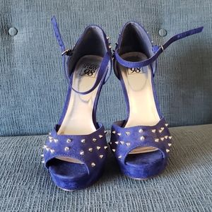 EUC Platform, ankle strap heels.